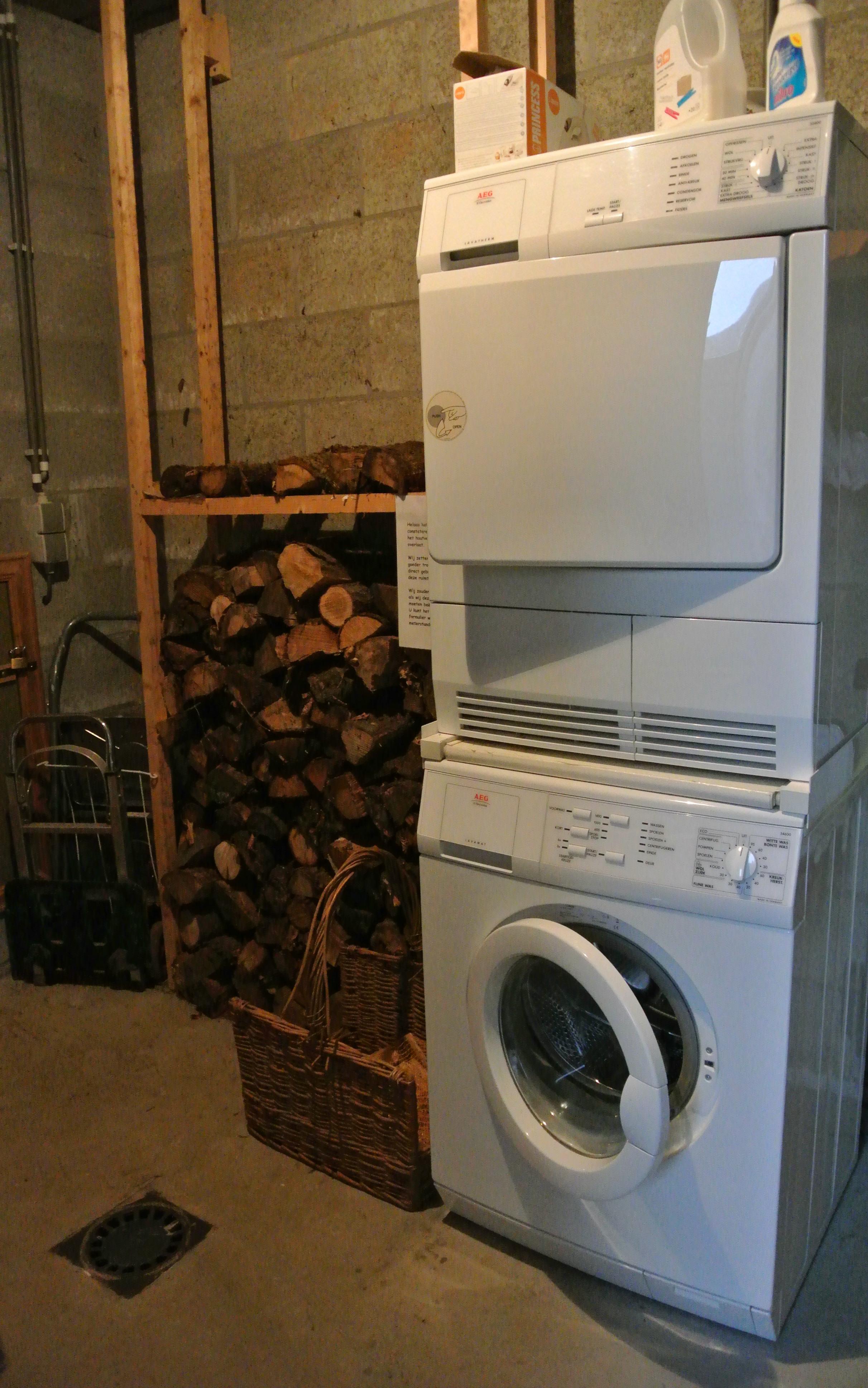 wasdroger wasmachine