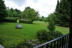 uitzicht terras op de tuin