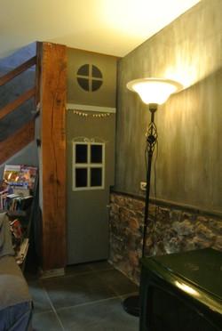 kinderspeelruimte onder de trap