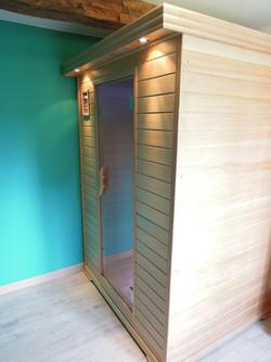 sauna 1ste etage