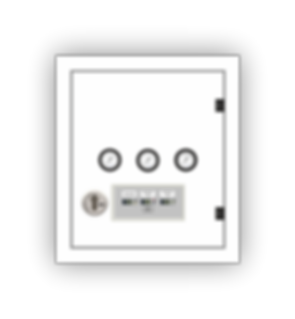 Bereichsaspereinheit mit integriertem Notfallsignalgerät zur Überwachung der medizinischen Gase