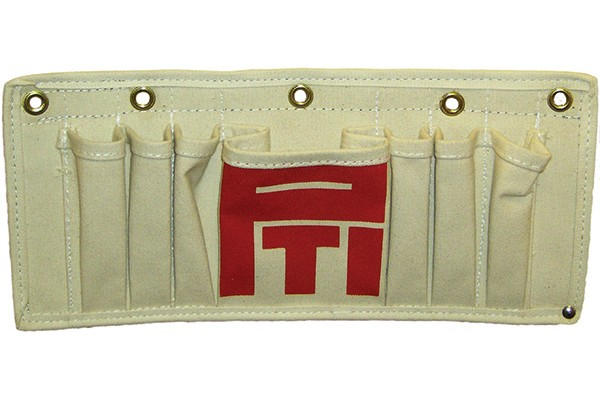 TP-7 Tool Tray Tool Pouch, Canvas, 7 pockerts