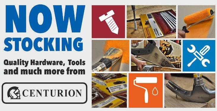 Centurion Tools and Fixings