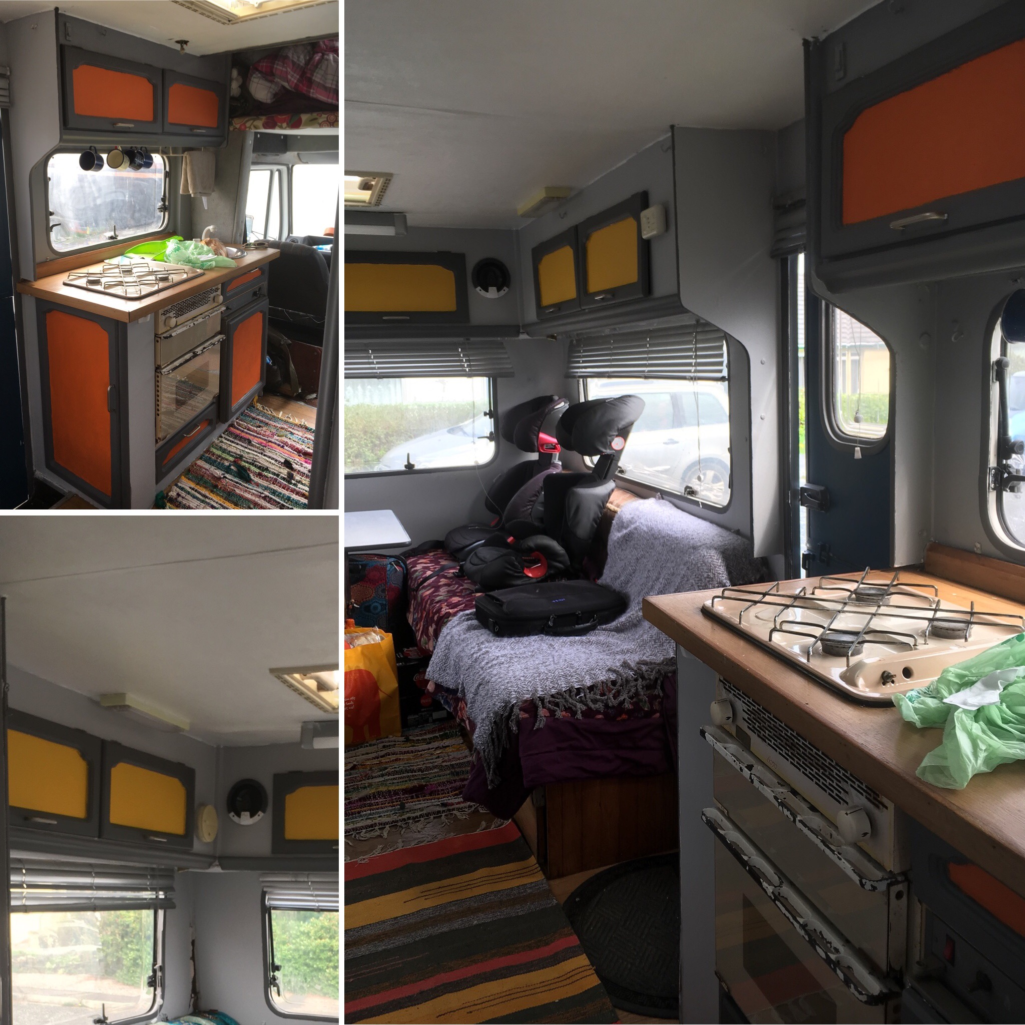 Camper Van Upcycle