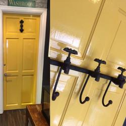 Newly Glossed Door