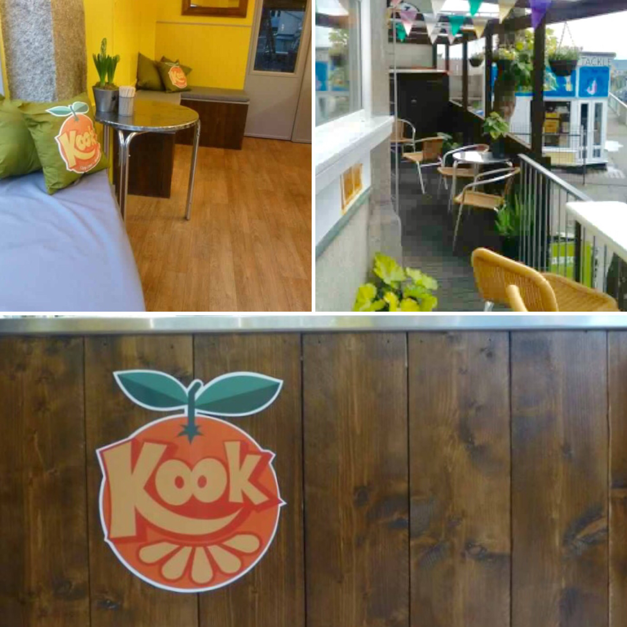 Kook Smoothie Bar, Newquay