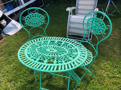 Re-Upcycled Table and Chairs