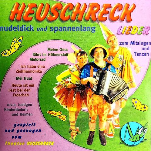 Nudeldick und Spannenlang CD