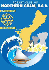 Rotary Club of Northern Guam's Flag.