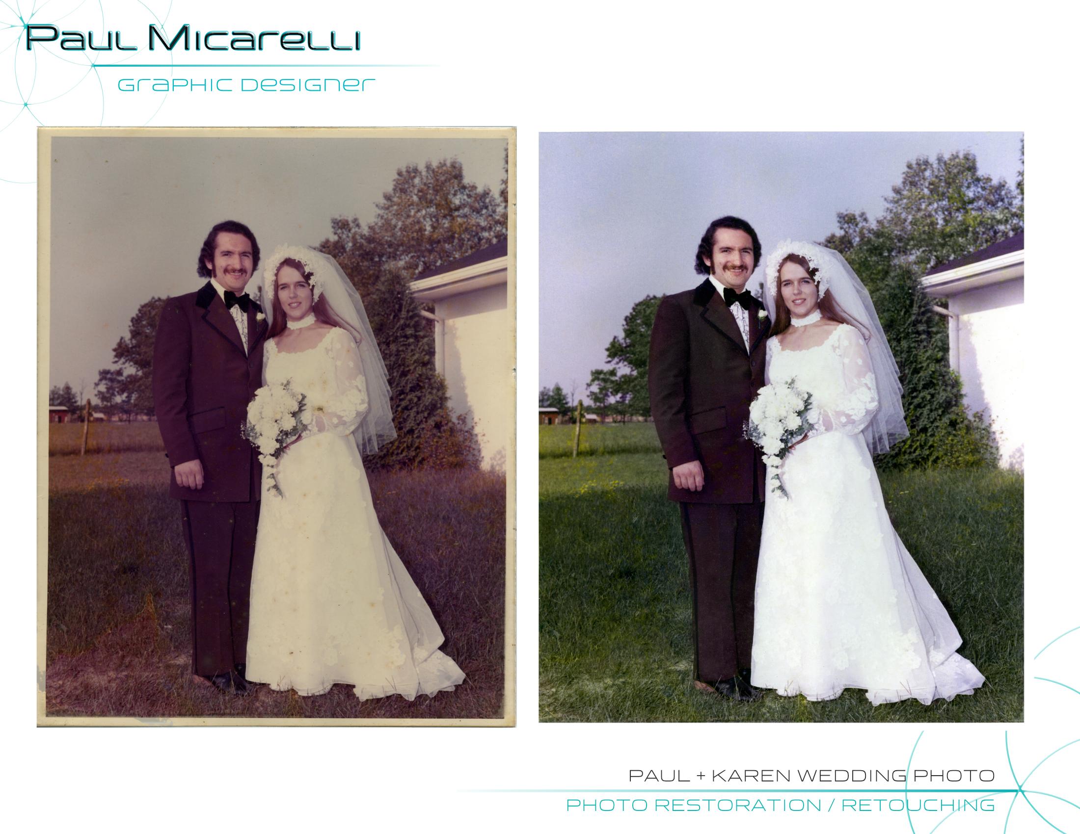 Paul-Micarelli-Paul Karen Wedding Photo.