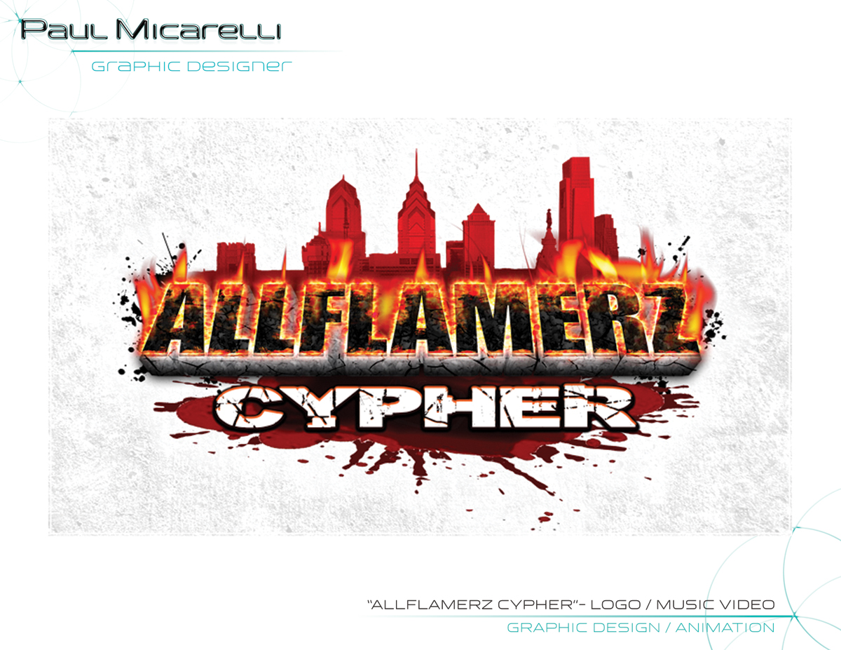Paul-Micarelli-Allflamerz Video Logo