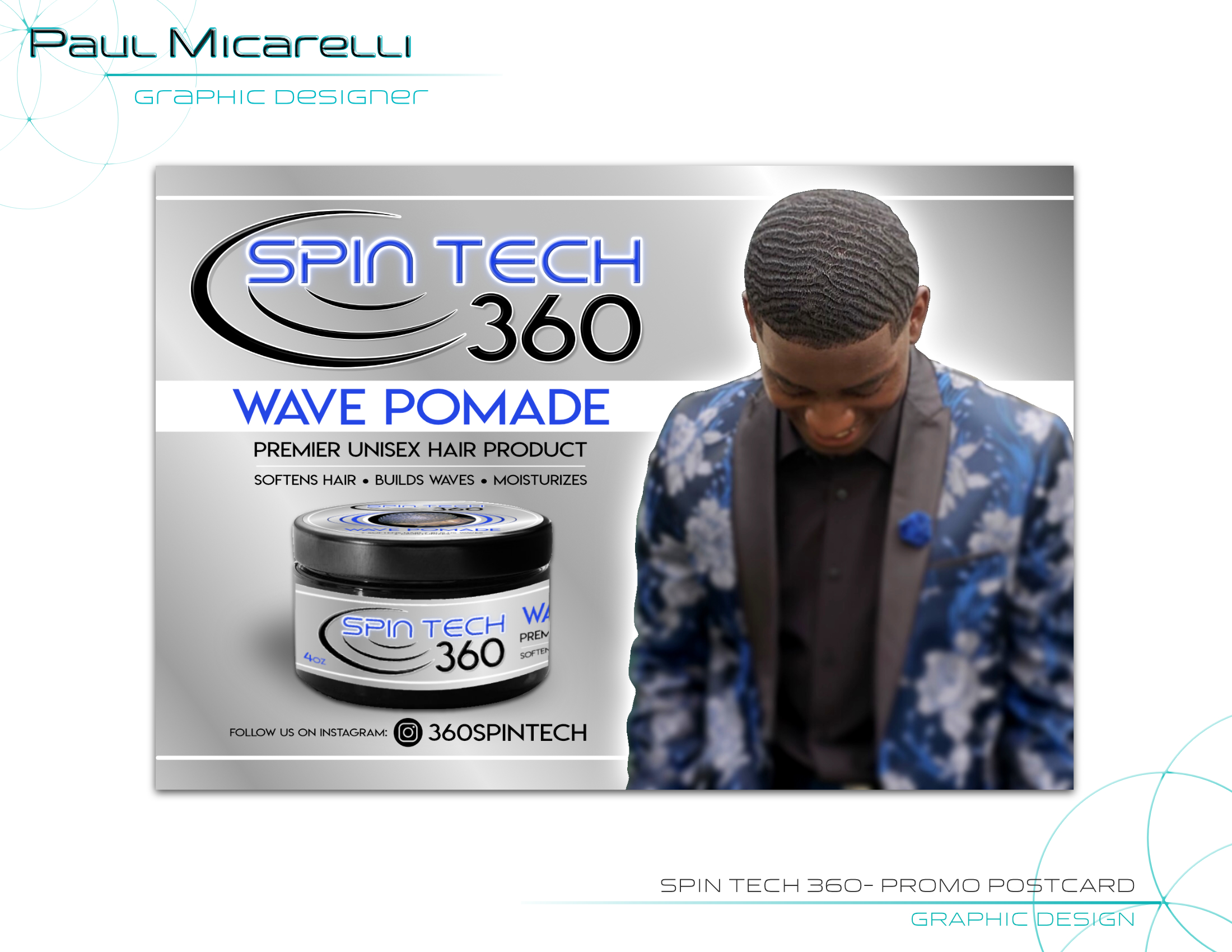 Paul-Micarelli-Spin Tech 360-Postcard