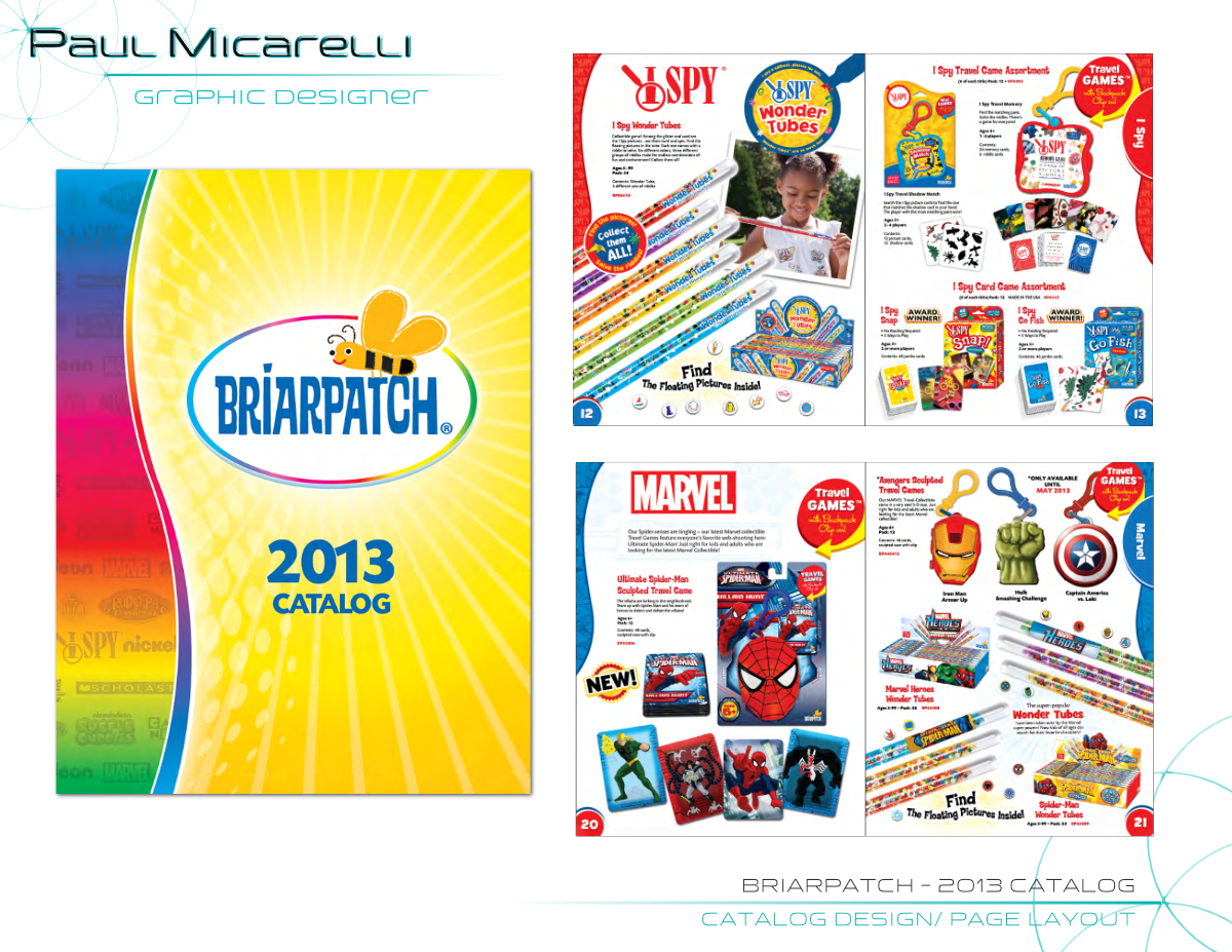 Paul-Micarelli-Briarpatch 2013 Catalog