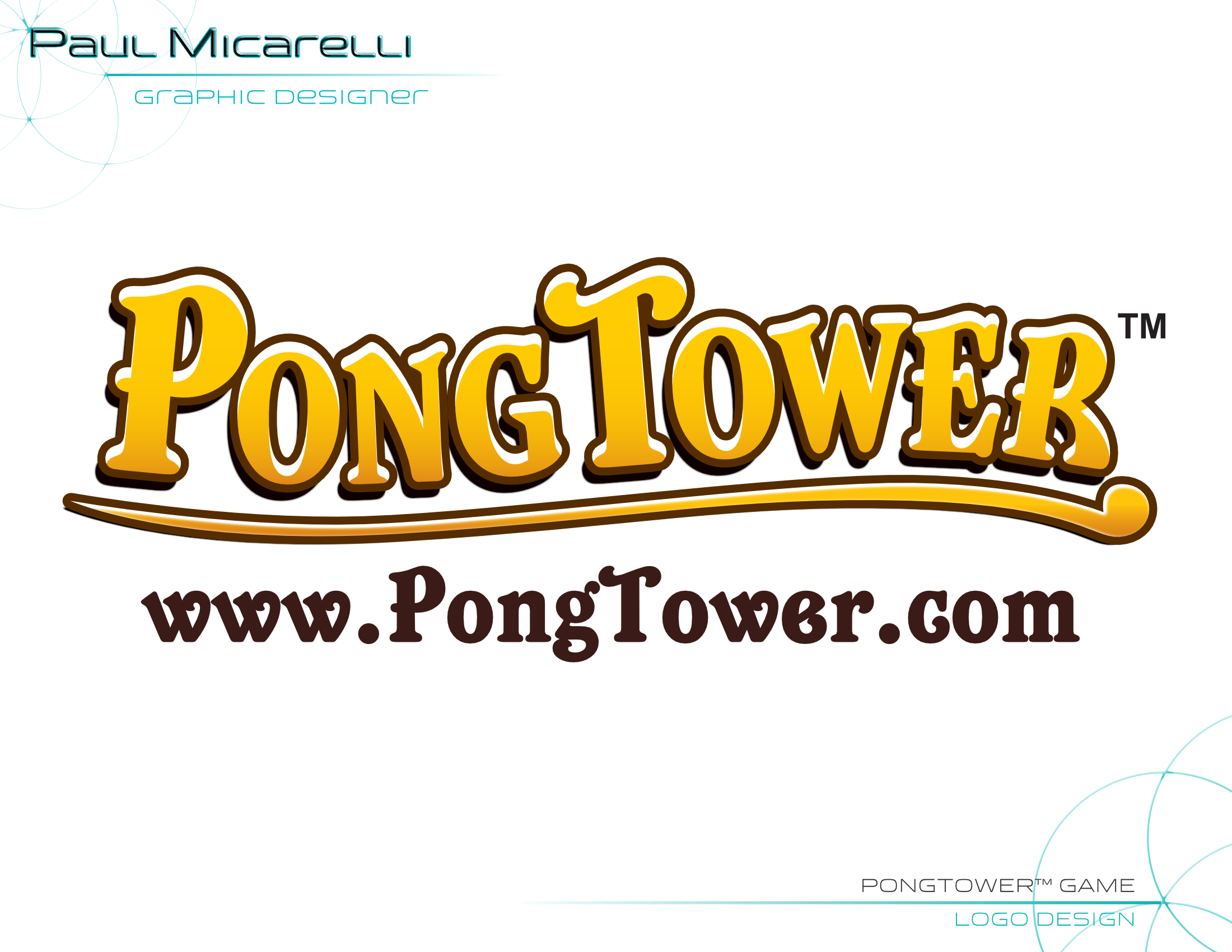 Paul-Micarelli-PongTower Logo