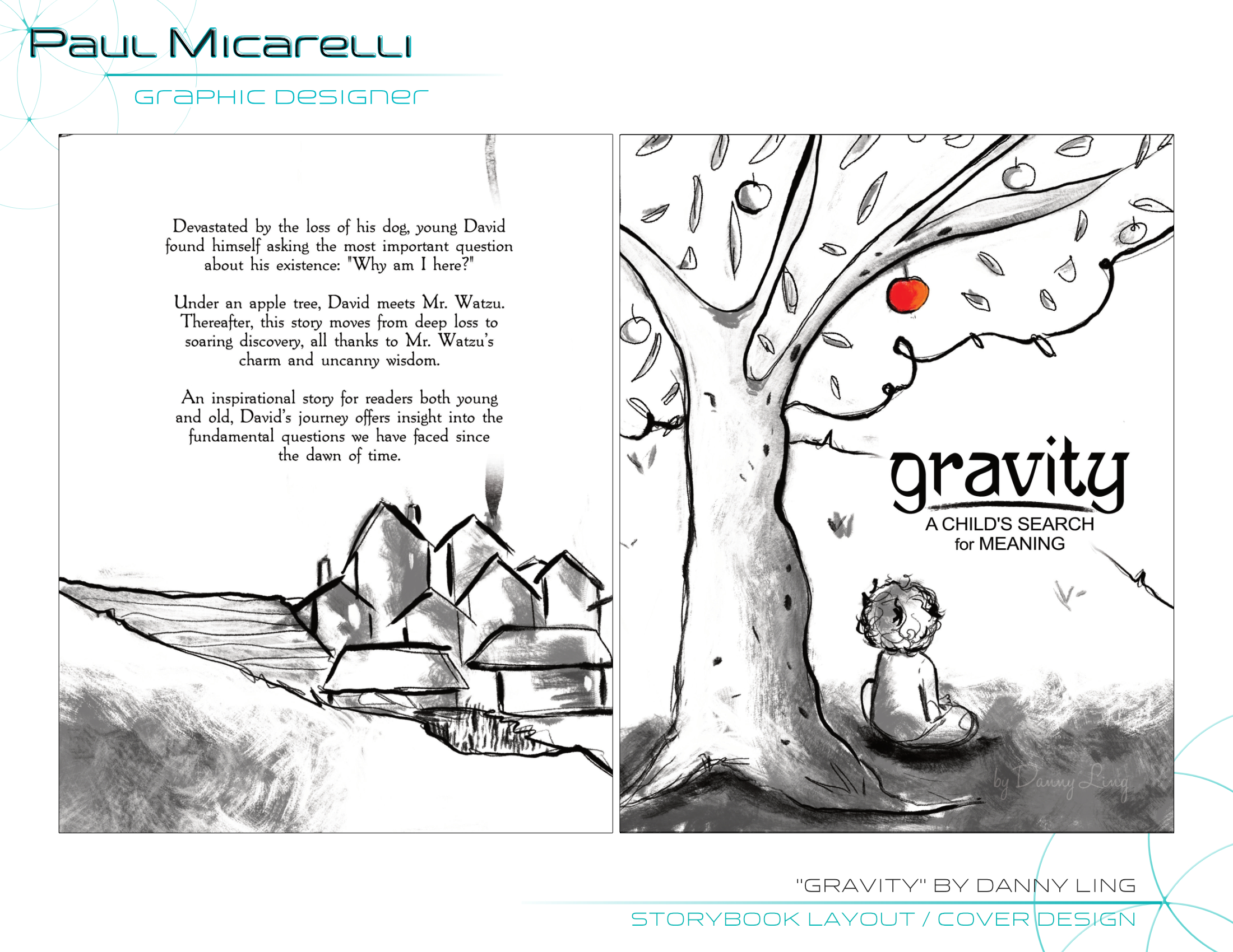 Paul-Micarelli-Gravity-Book Cover Design
