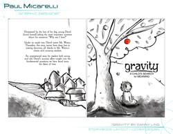 Paul-Micarelli-Gravity-Book Cover Design