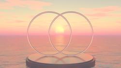 Vesica Pisces Ocean Sunrise-Paul Micarel