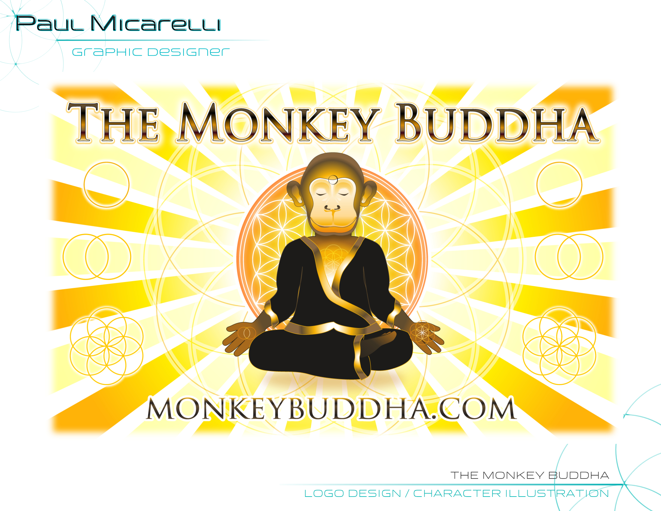 Paul-Micarelli-The Monkey Buddha Logo