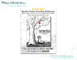 Paul-Micarelli-Gravity Promo Flyer