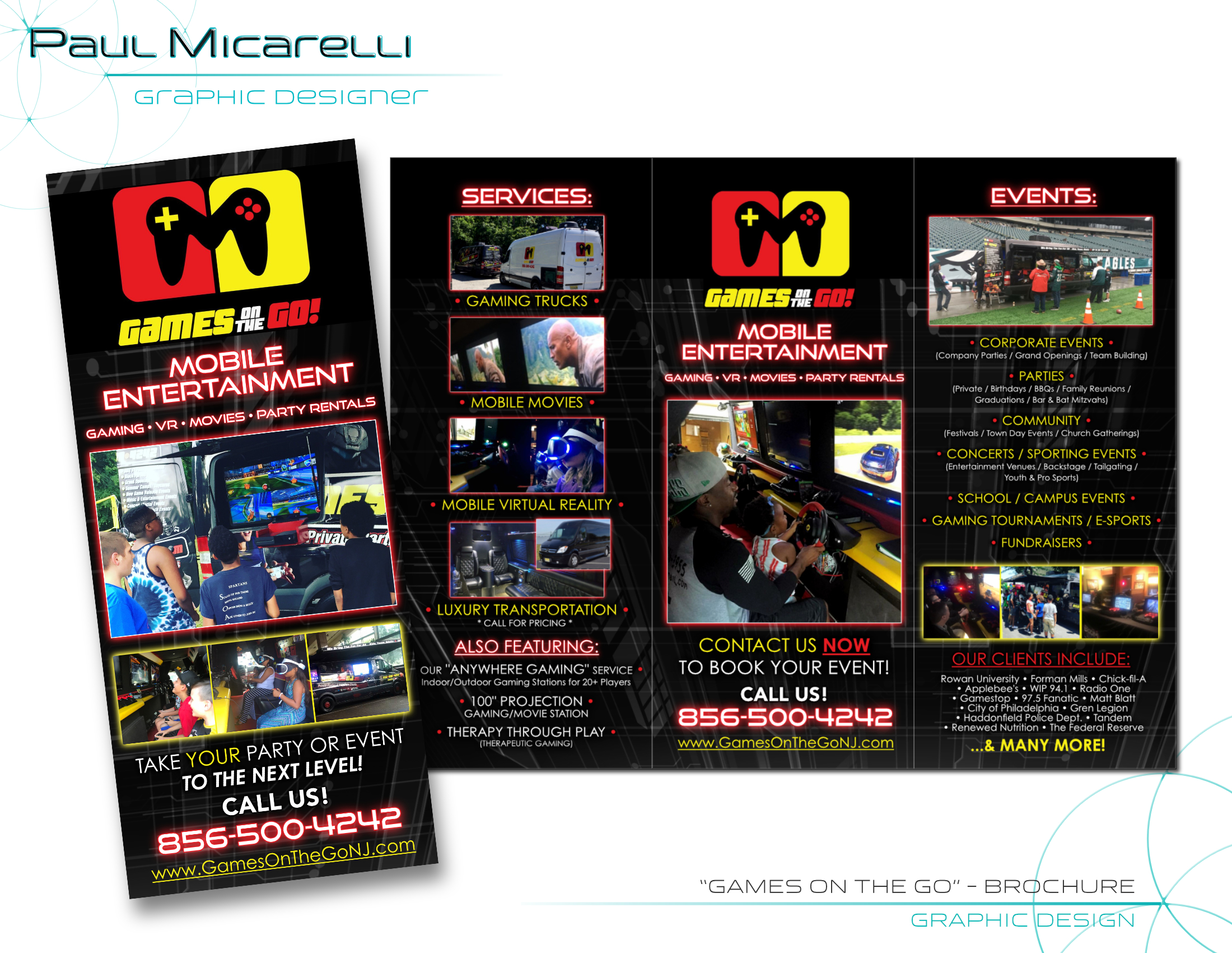 Paul-Micarelli-Games on the Go Brochure.