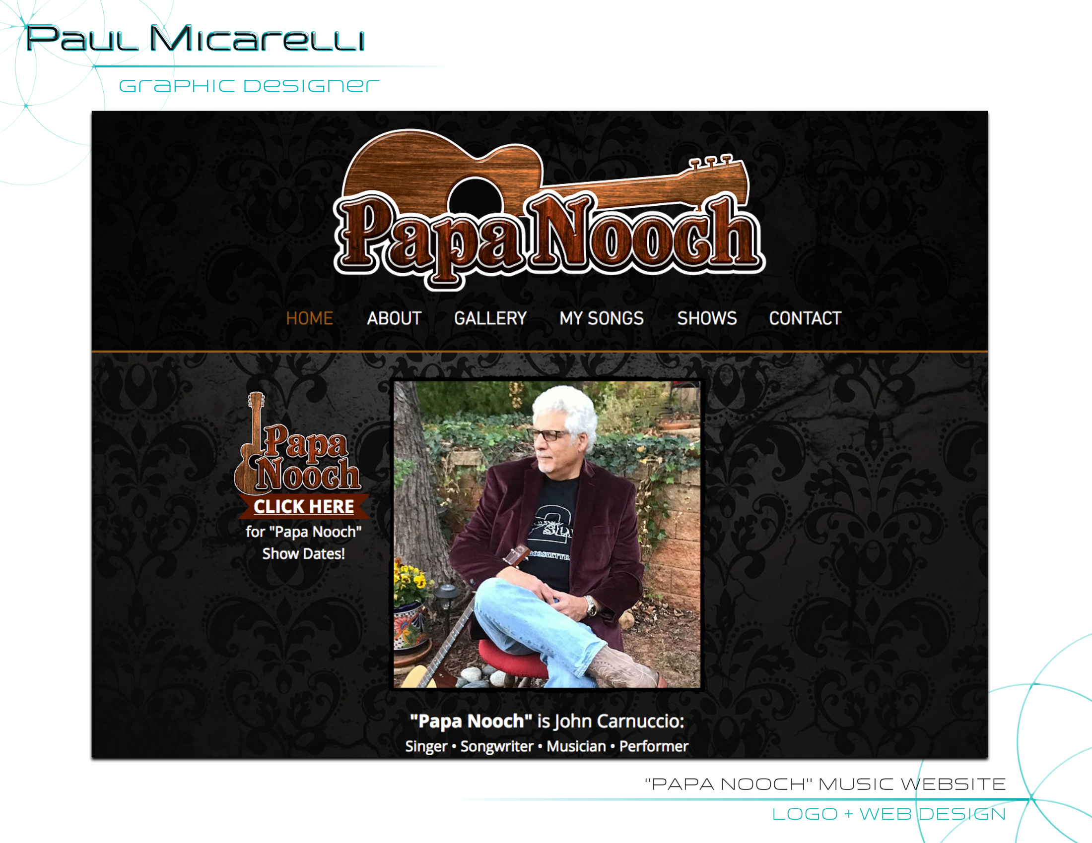 Paul-Micarelli-Papa Nooch Website