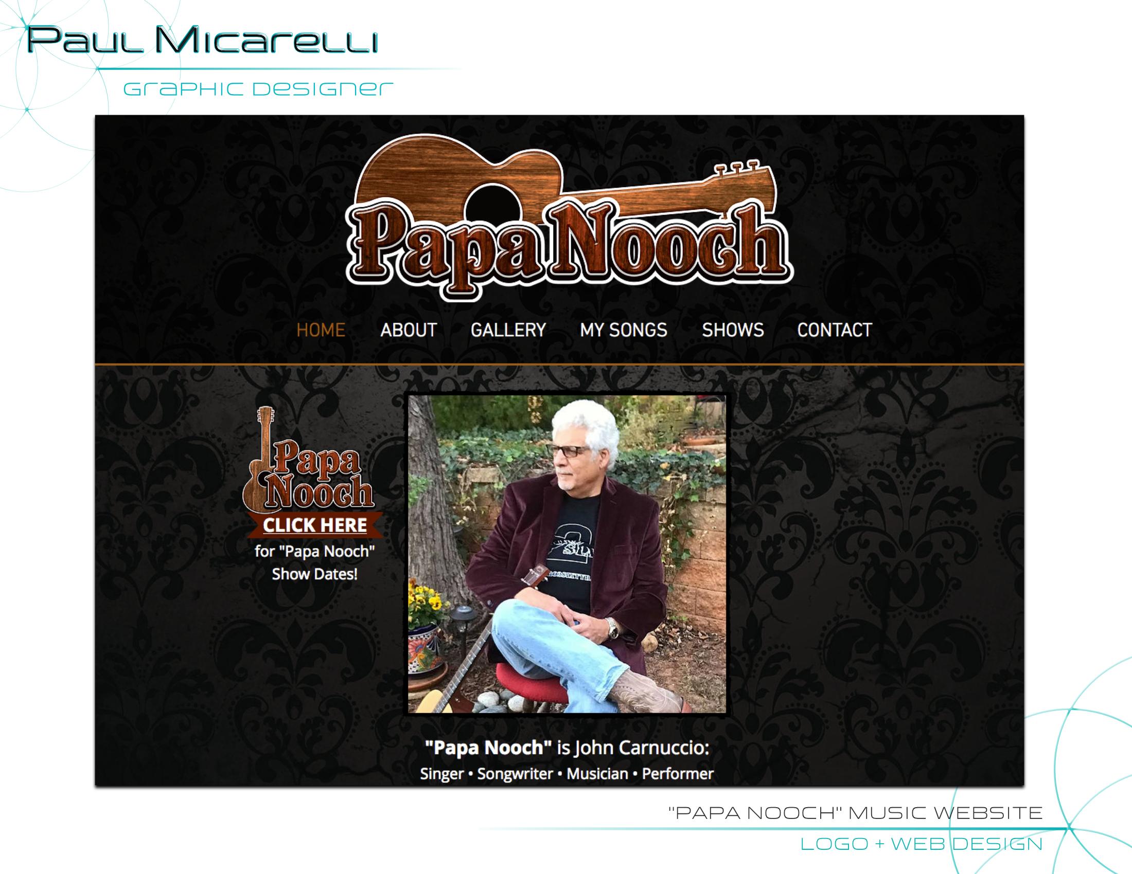 Paul-Micarelli-Papa Nooch Website