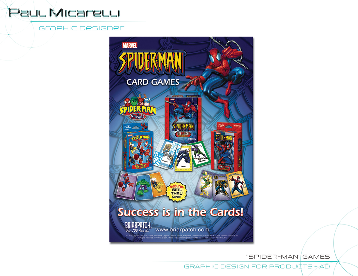 Paul-Micarelli-Spiderman Ad