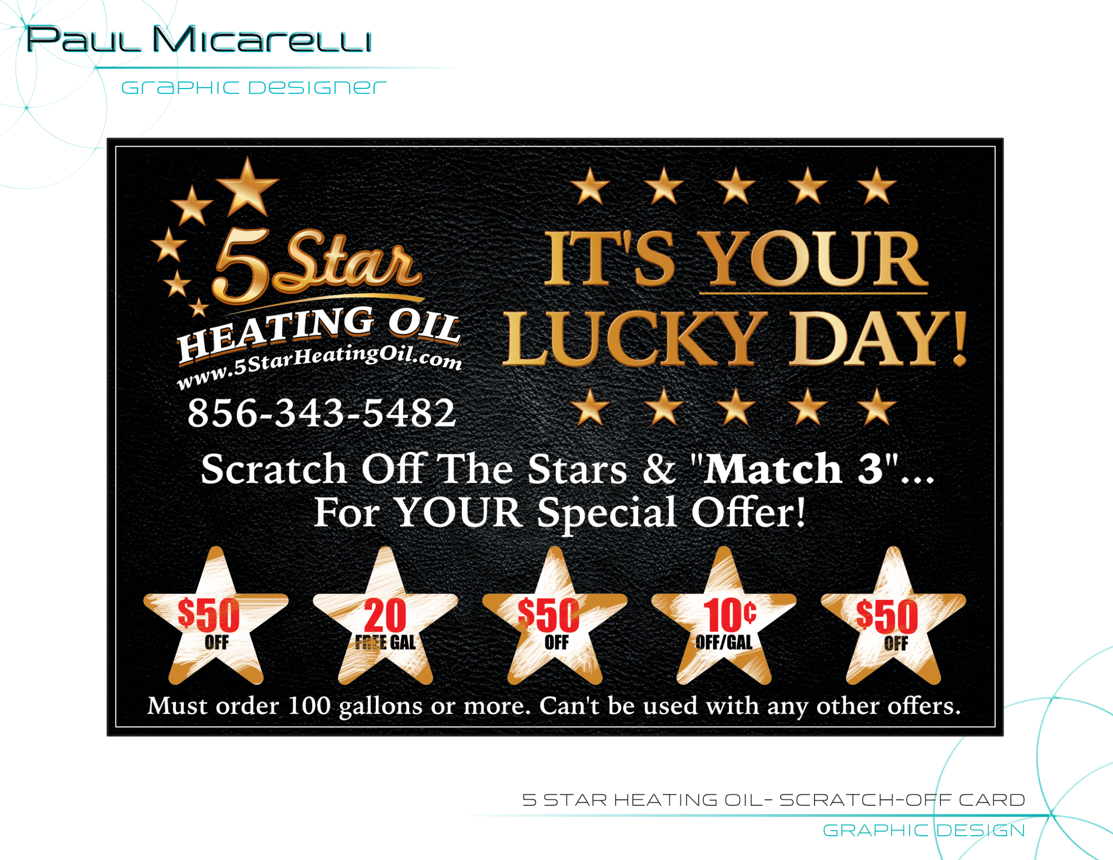Paul-Micarelli-5 Star Heating Oil-Scratc