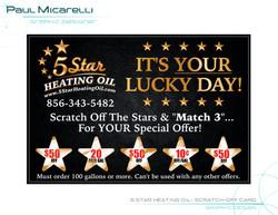 Paul-Micarelli-5 Star Heating Oil-Scratc