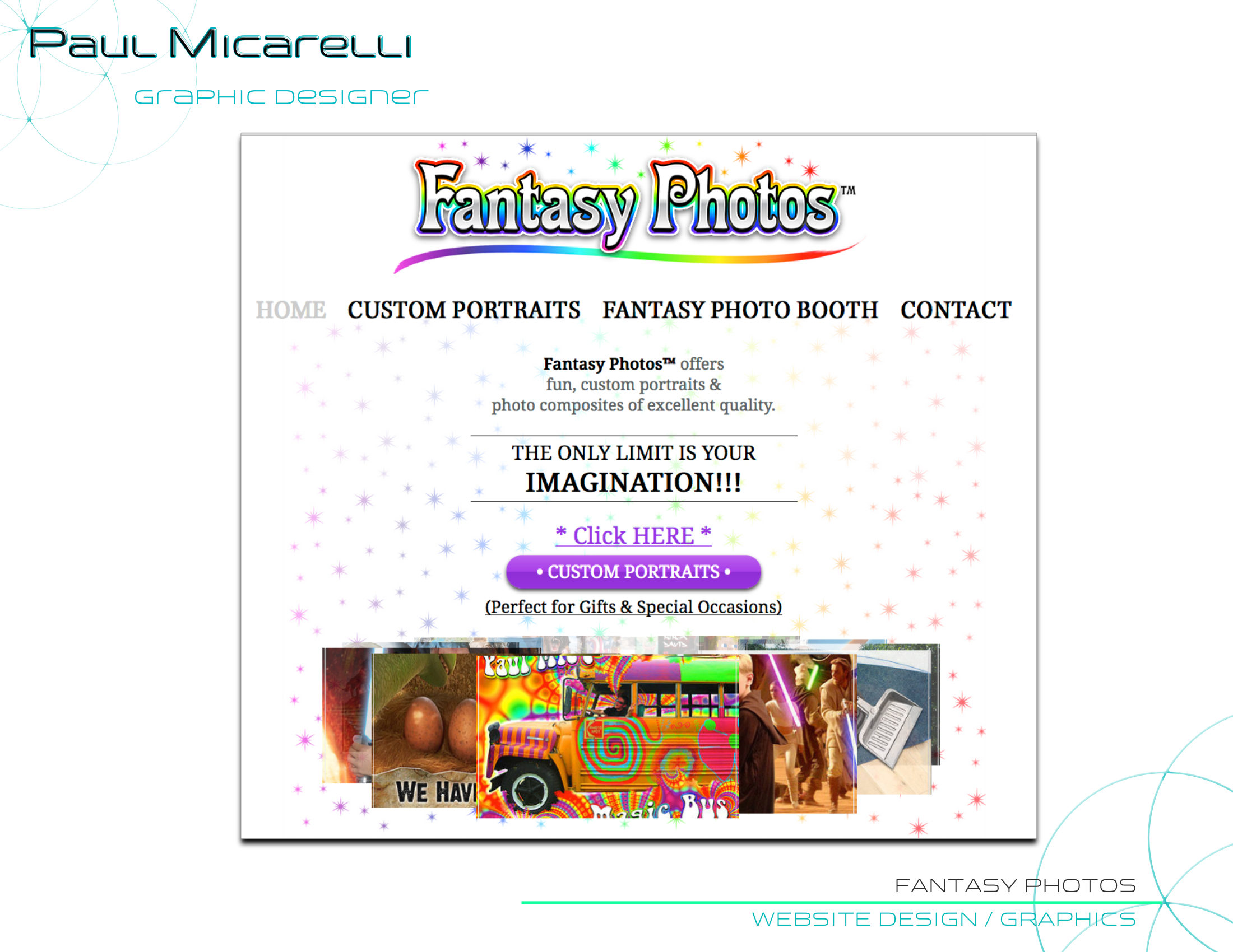 Paul-Micarelli-Fantasy Photos Website