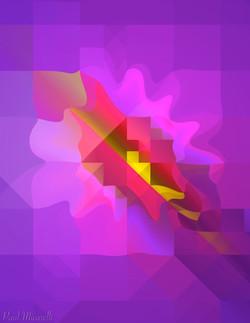 Technocubist Flower-Paul Micarelli