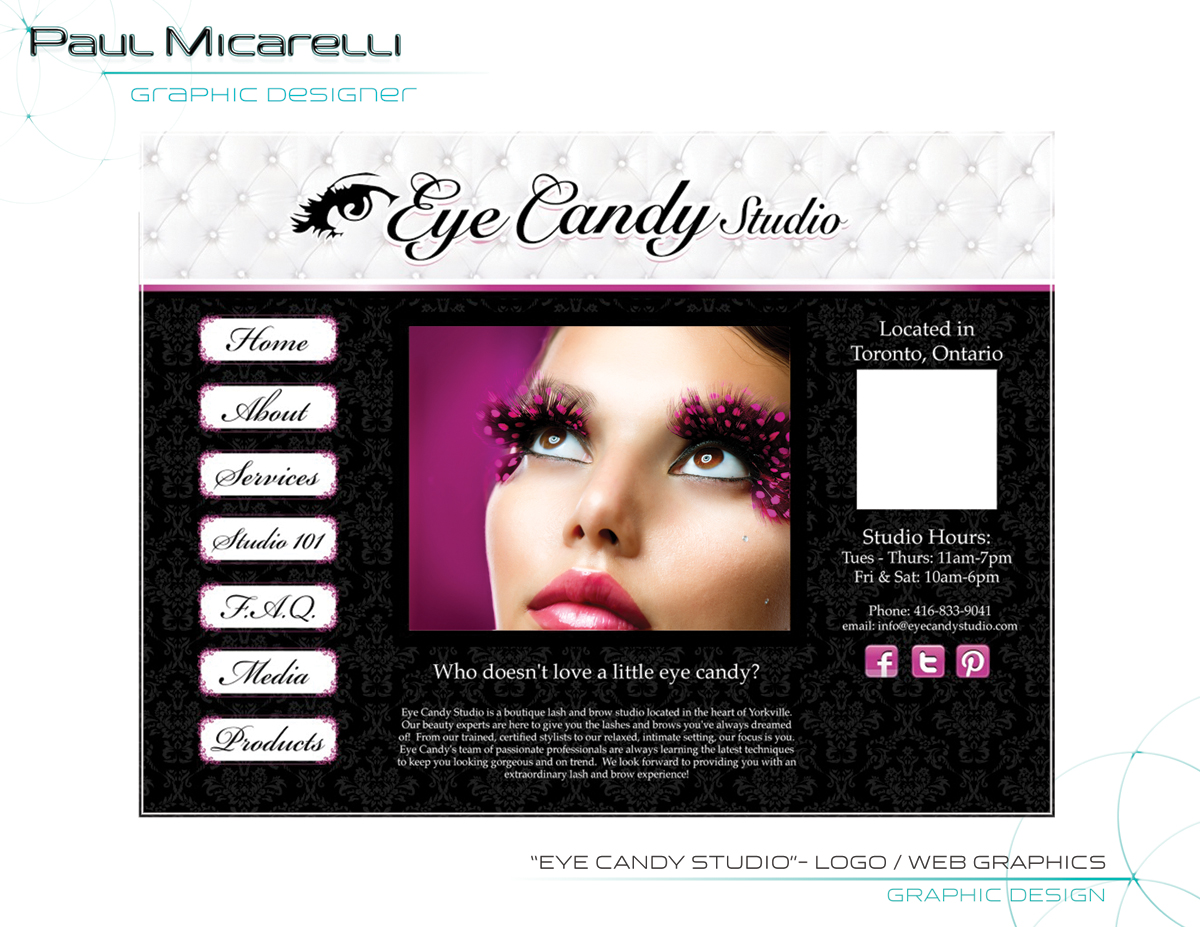 Paul-Micarelli-Eye Candy Logo Webpage