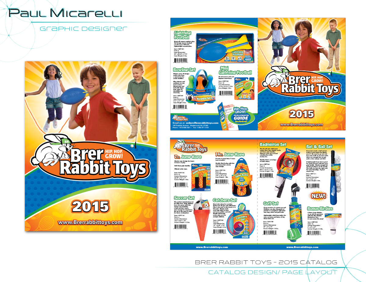 Paul-Micarelli-Brer Rabbit 2015 Catalog.