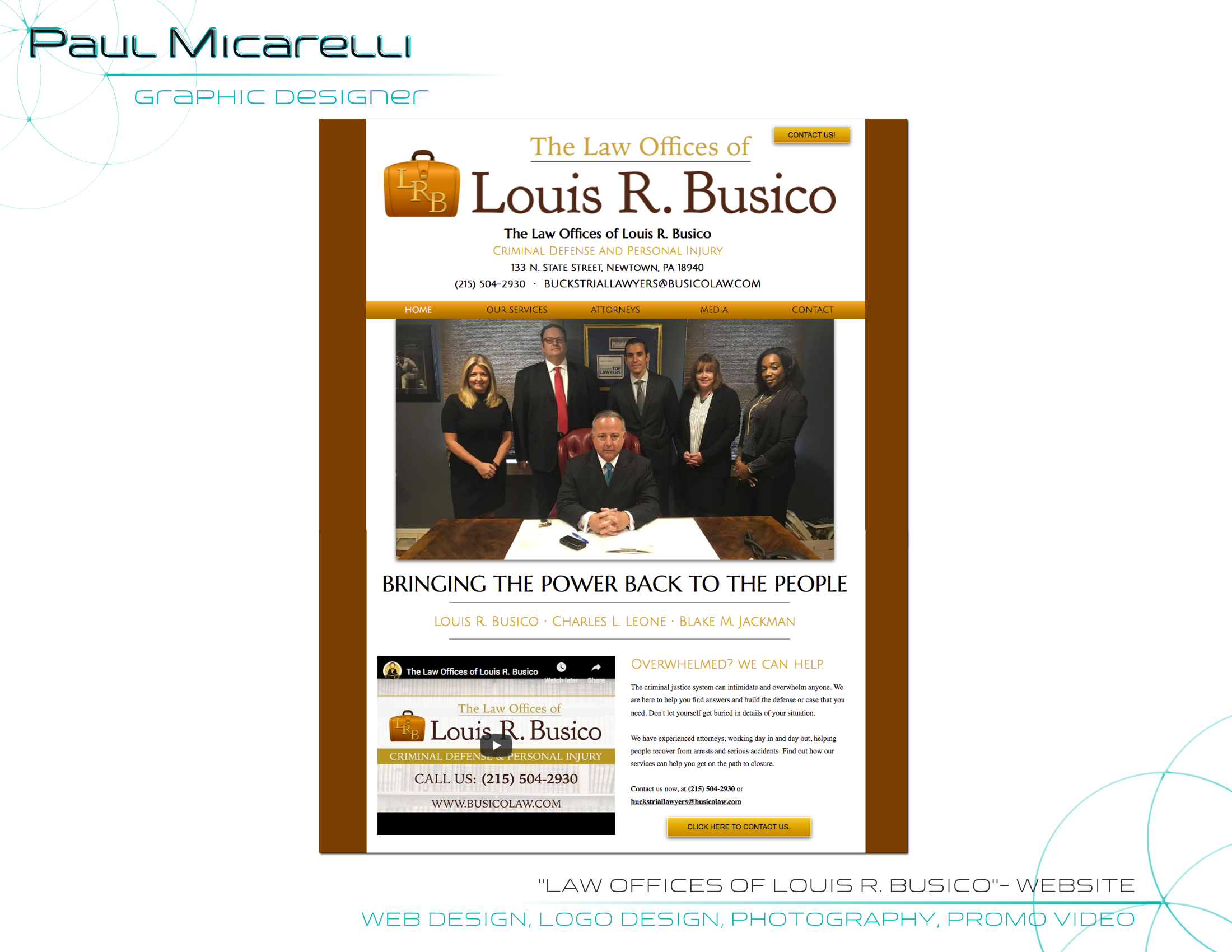 Paul-Micarelli-Busico Law Website
