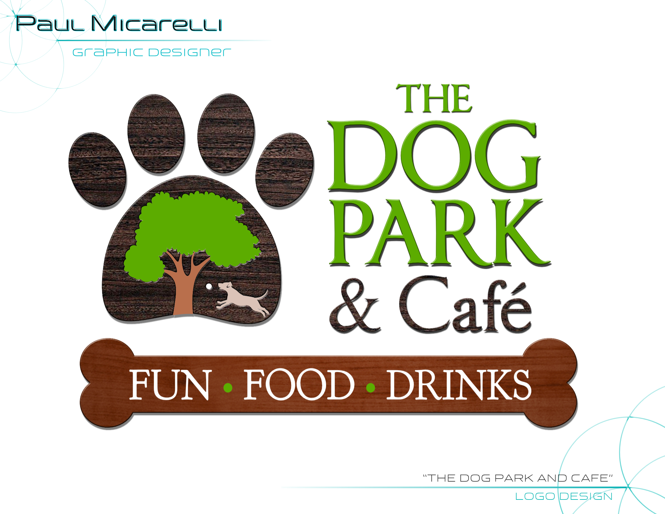 Paul-Micarelli-The Dog Park Cafe-Logo