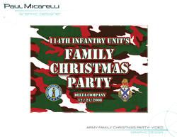 Paul-Micarelli-Army-Xmas-Party Video
