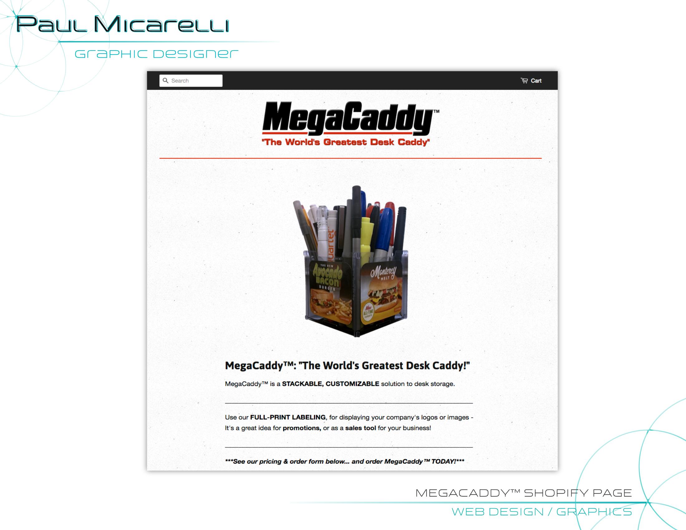 Paul-Micarelli-MegaCaddy Webpage