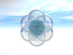 Blue Sky Seed of Life-Paul Micarelli