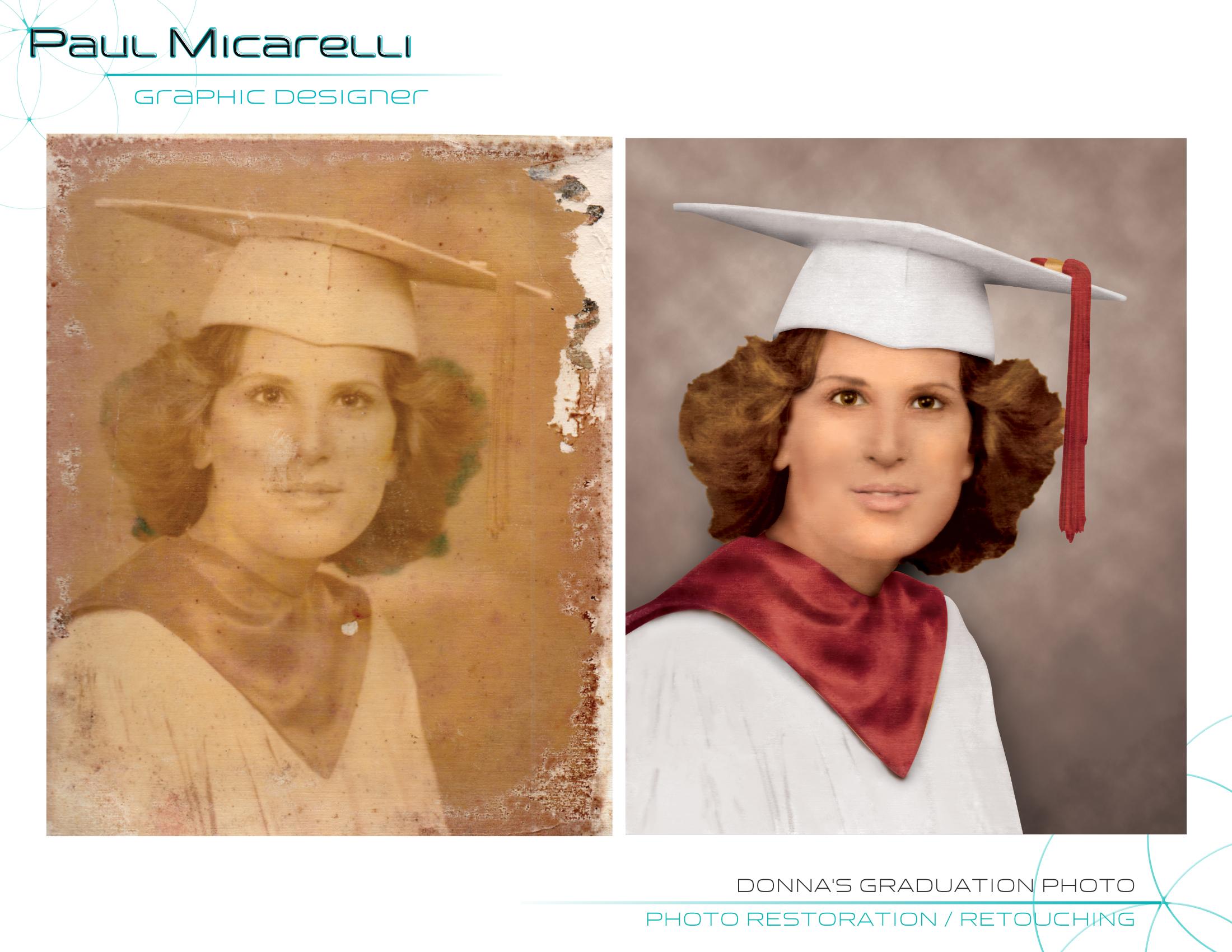 Paul-Micarelli-Donna Graduation Photo
