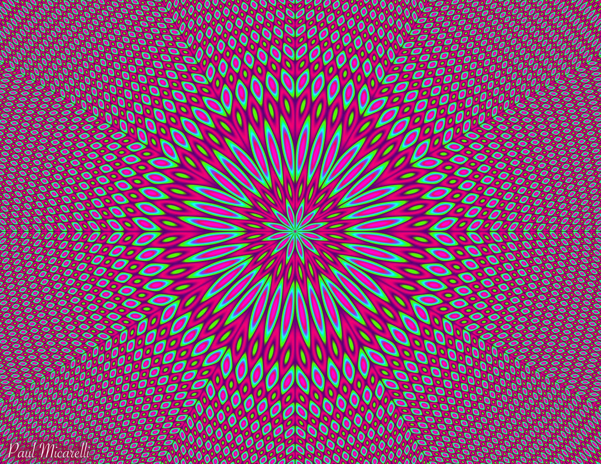 Floral Mandala-Paul Micarelli