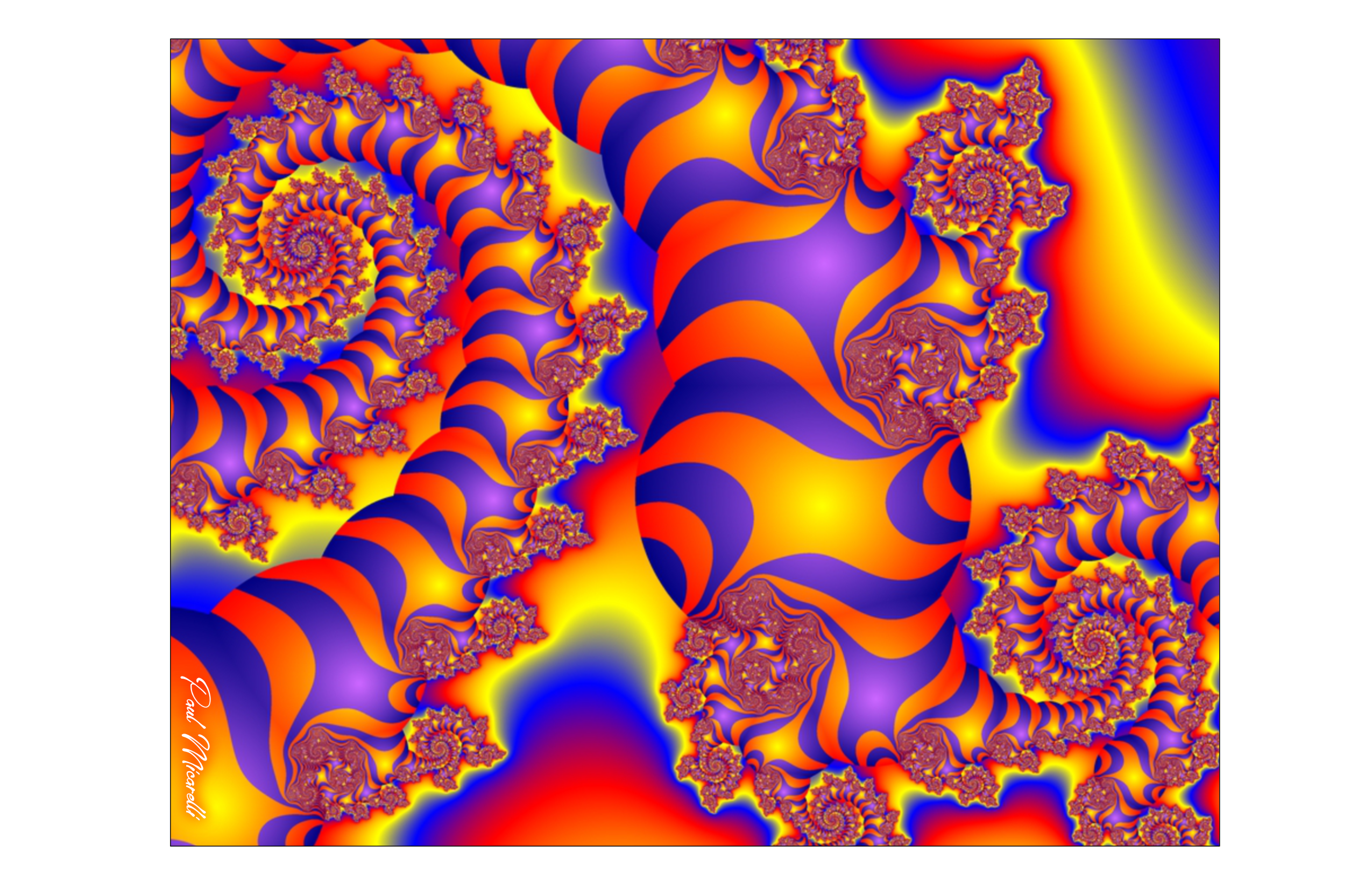 Striped Fractal-Paul Micarelli