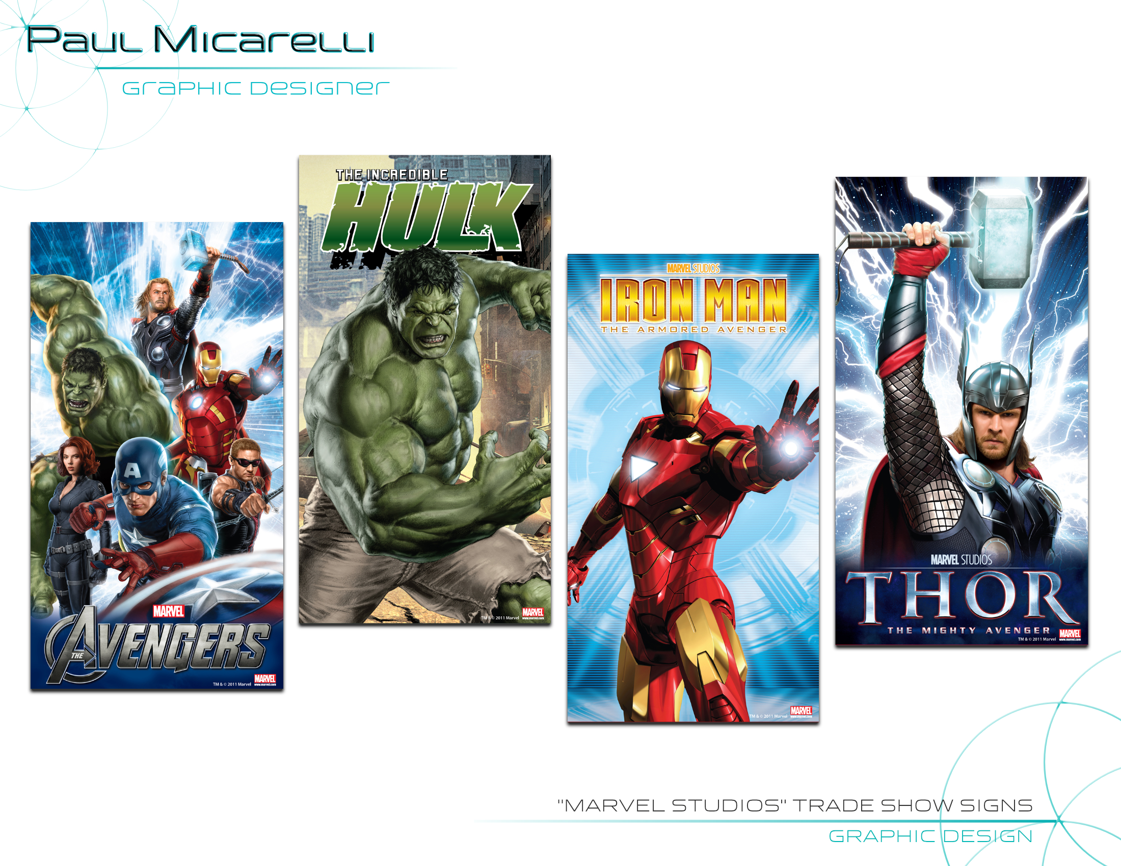 Paul-Micarelli-Marvel Trade Show Signs
