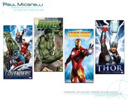 Paul-Micarelli-Marvel Trade Show Signs