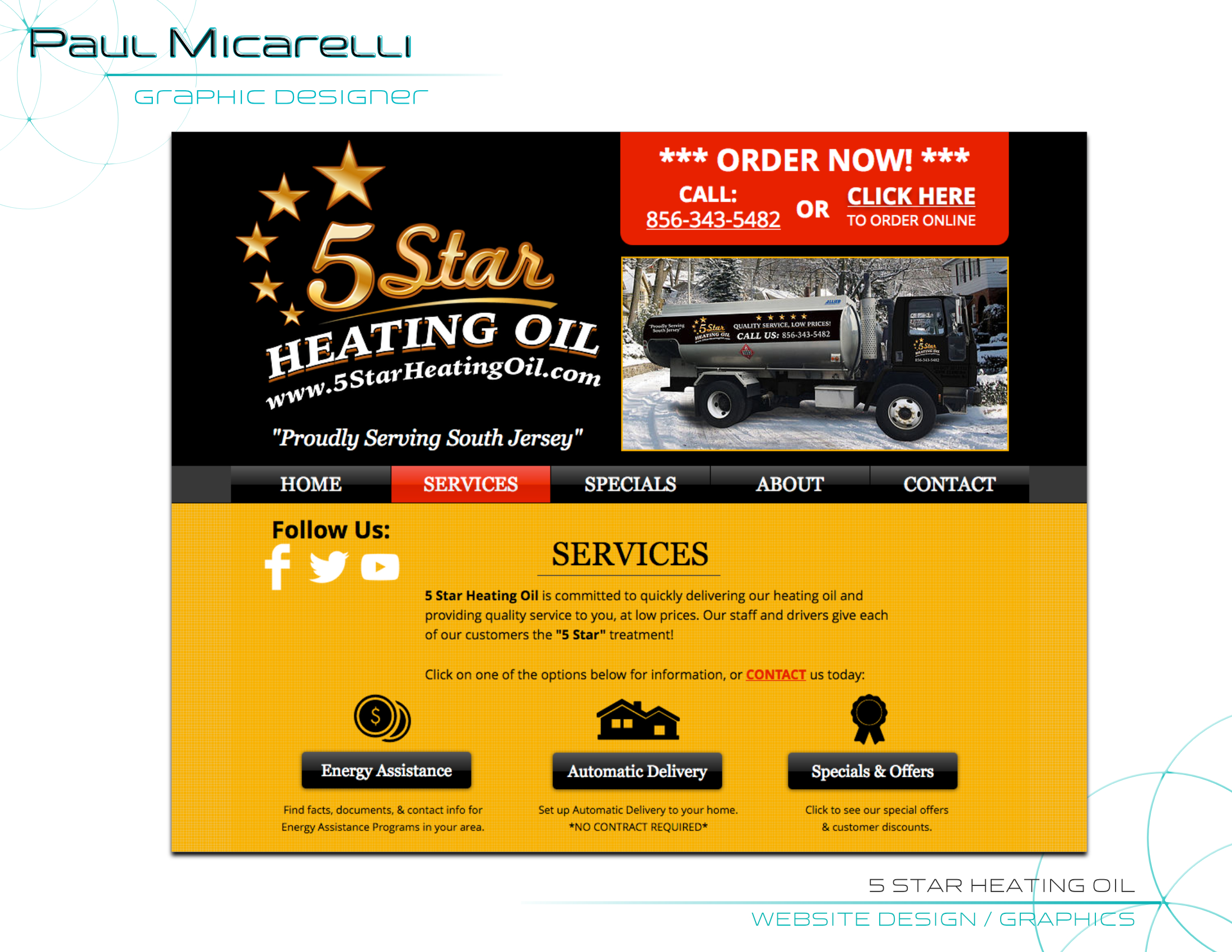 Paul-Micarelli-5 Star Heating Oil Websit
