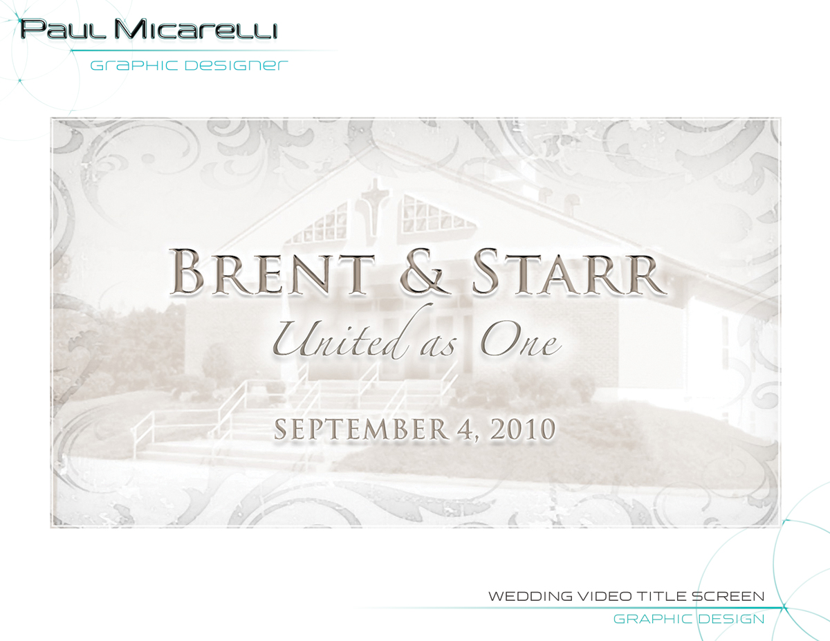 Paul-Micarelli-Wedding Video Brent Starr