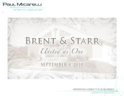 Paul-Micarelli-Wedding Video Brent Starr
