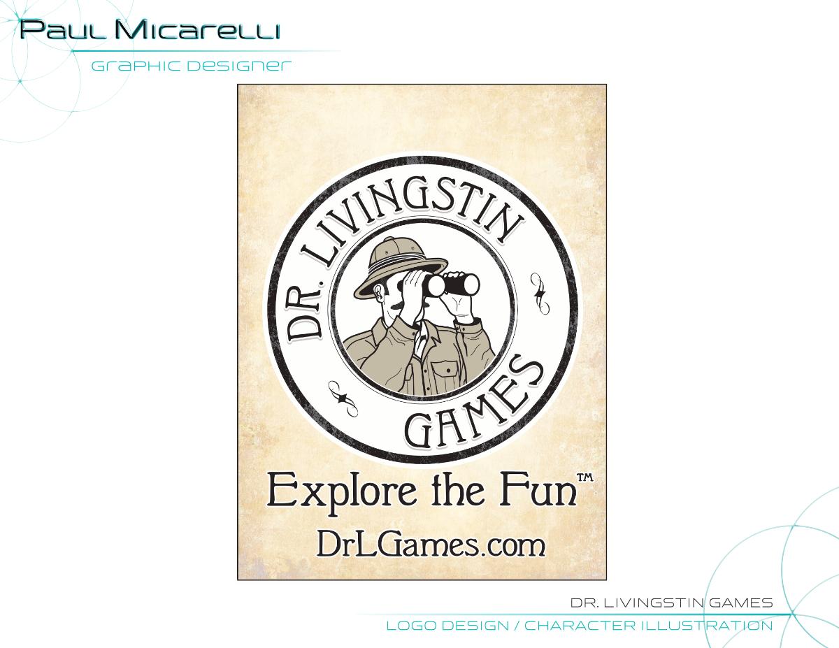 Paul-Micarelli-Dr Livingstin Logo