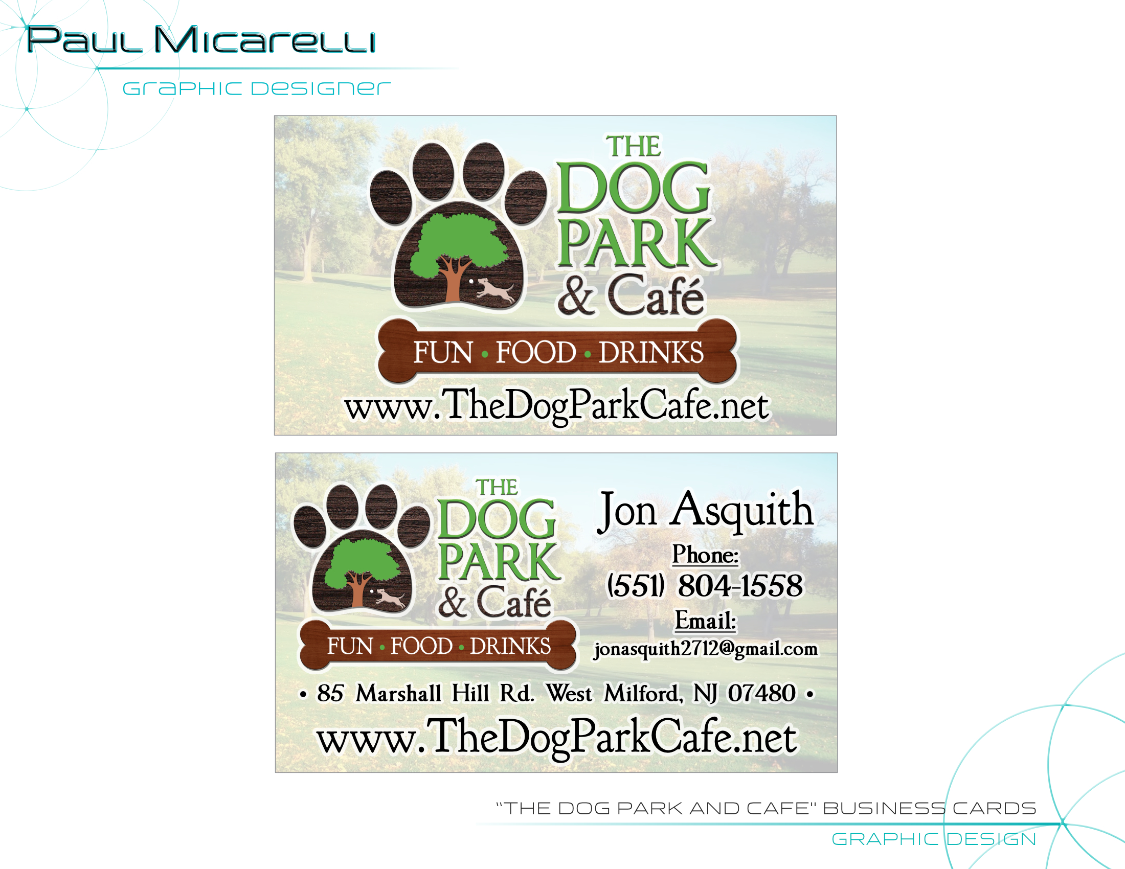 Paul-Micarelli-The Dog Park Cafe-Busines
