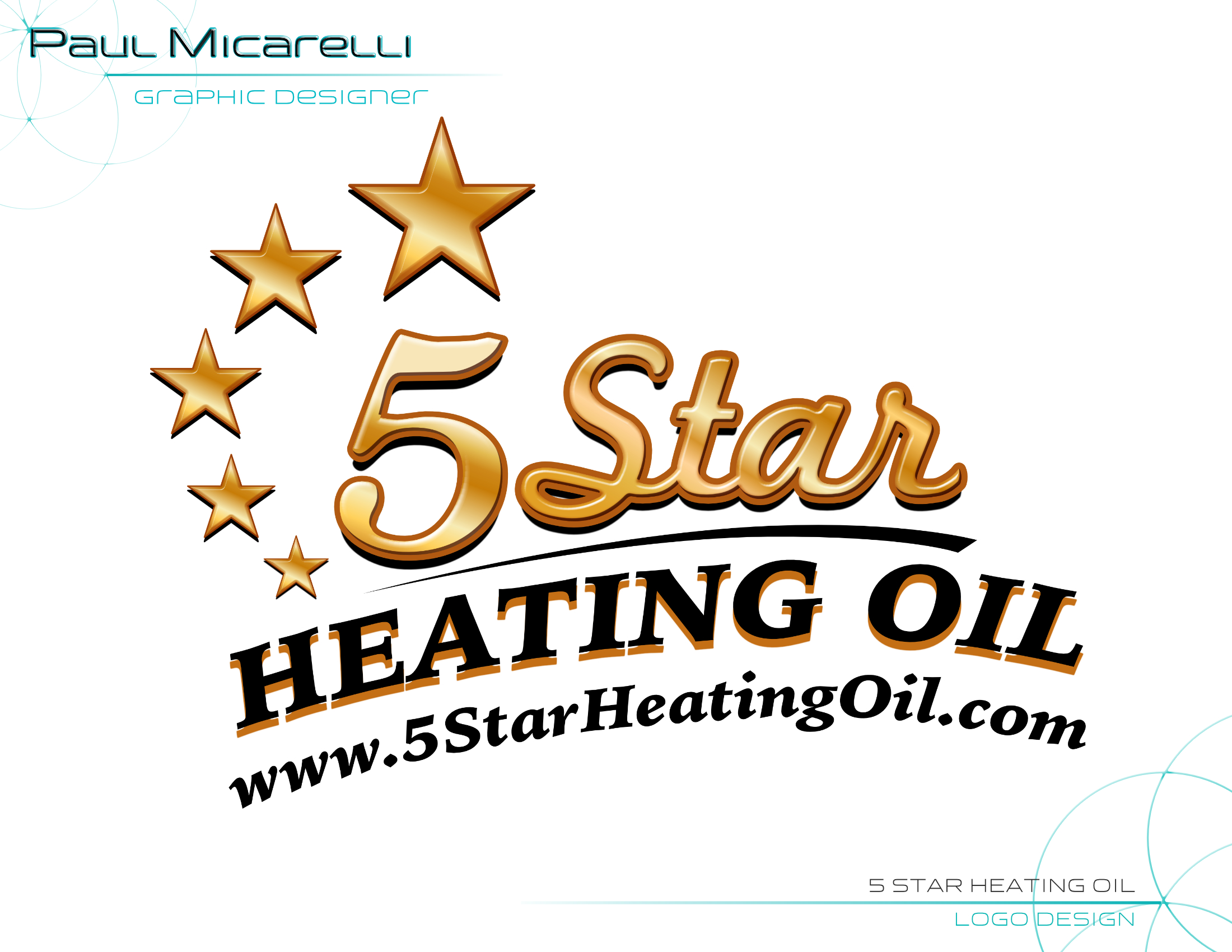 Paul-Micarelli-5 Star Heating Oil Logo