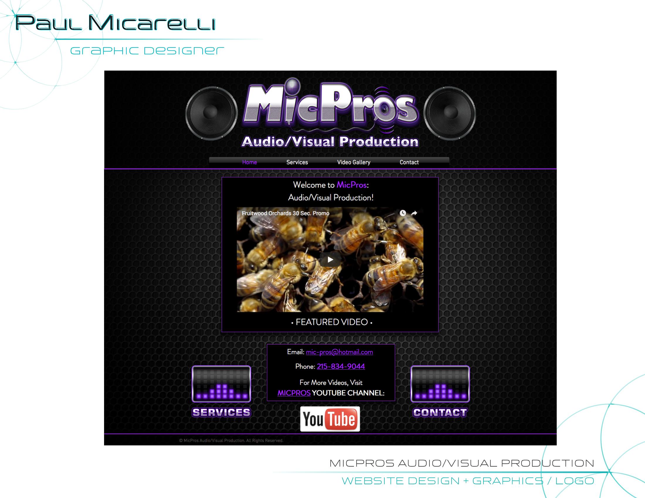 Paul-Micarelli-MicPros Logo Webpage